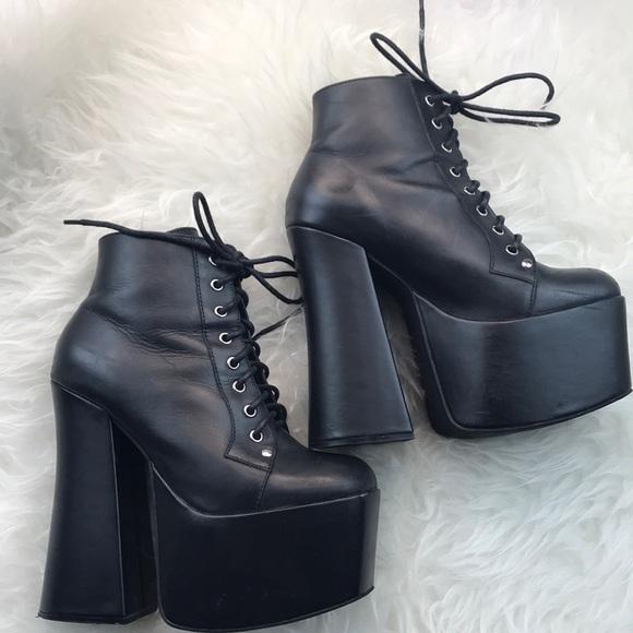 fe4828b2aad Jeffrey Campbell Shoes - Jeffrey Campbell Gotham 2 Platform Boots Booties💀